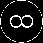 Infinity Logo White
